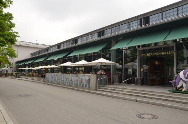 Käfe Schrannenhalle, München